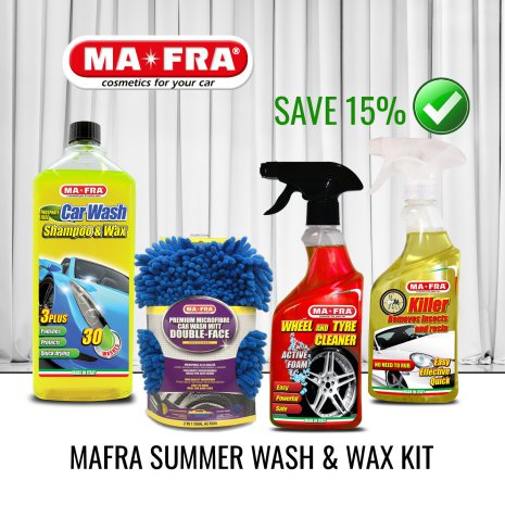 Mafra Summer Wash & Wax KIT