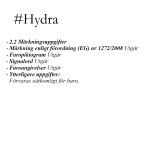 Plastförnyare - Labocosmetica #Hydra 500ml