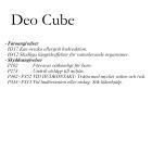 Mafra Deo Cube Apple