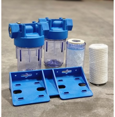 Kit för vattenfiltrering / Antikalk 5 micon